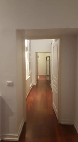 Pose de parquet couloir et peinture murale