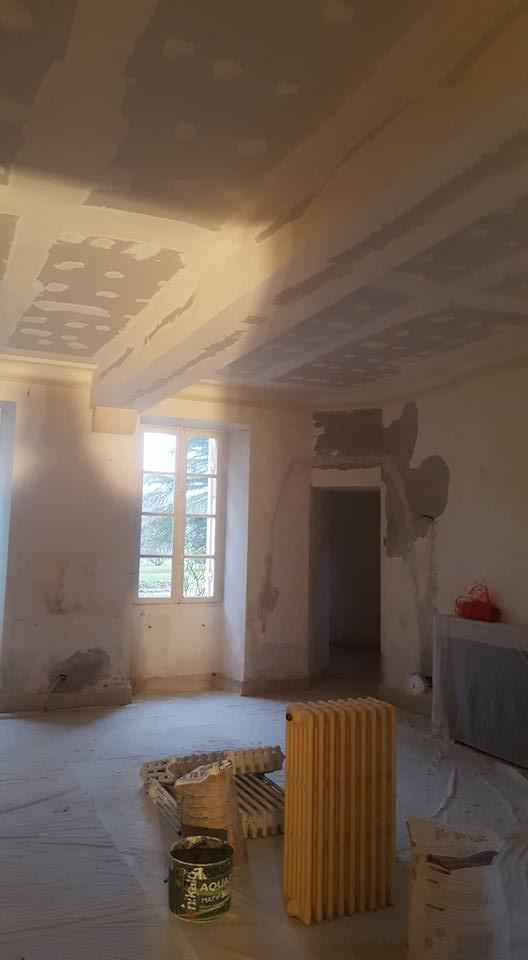 Isolation plafond château